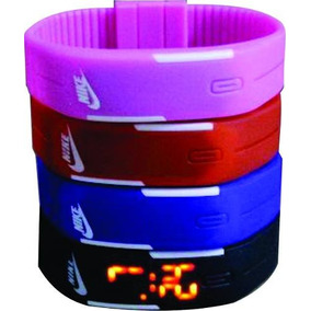 Relógio Pulseira Nike Digital Led Pulseira Bracelete Promoçã