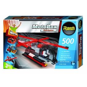 Rasti Motobox Helicoptero 3 En 1 -500 Piezas- Giro Didactico