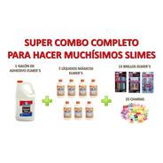 Combo Elmers Para Hacer Más De 25 Slimes C/ Brillos Y Charms