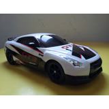 Carro De Controle Remoto Elétrico Nissan Gtr Kyosho 1:16