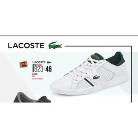 Tenis Lacoste P/caballero Ortholite Blanco 823-46 Piel