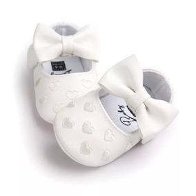 Zapato Bebe Blanco 6-12 Meses