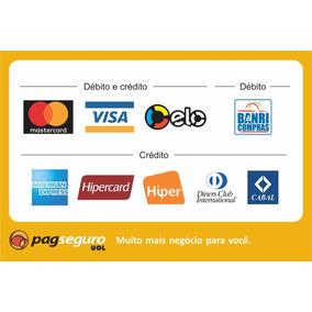 Adesivo Cartao De Credito - American Express Pagseguro
