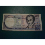 500 Bolívares De 1990 Z8 (filaven)