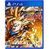 Dragon Ball Fighter Z | Ps4 | Físico Original + Remera