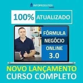 Curso Formula Negocio Online 3.0 + 500 Curso De Brinde