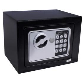 Cofre Eletrónico Digital - 2 Chaves Preto - Tander