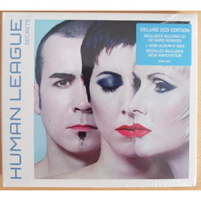 Box Human League Secrets Deluxe 2cd Edition Edición Europa