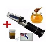 Refractómetro Para Miel+ Aceite Dióptrico Para Calibrarlo