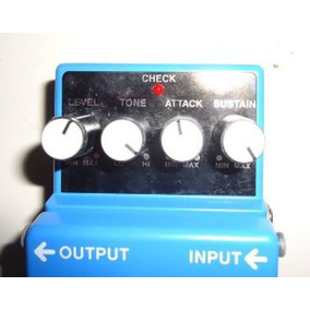 Pedal Compression Sustainer Cs-3 Boss P/ Guitarra