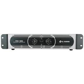 Potência Profissional Amplificador Pro-1600 400 Watts Rms