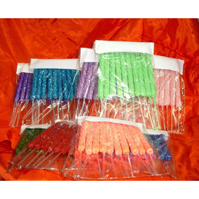 Velas Lisas Para Cumpleaños - Pack X10