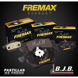 Jgo Pastilla Freno Fremax Del Ford Fiesta Ambiente 2002-2009