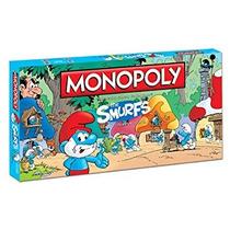 Juego Monopoly Edición Juego De Mesa De Los Pitufos Collect