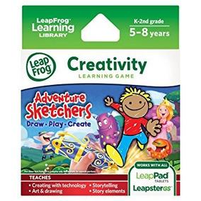Juguete Leapfrog Aventura Dibujantes! Dibujar, Jugar, Crear