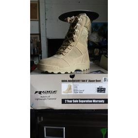 Botas Tacticas Con Zipper Marca Ridge Footwear Colordesierto