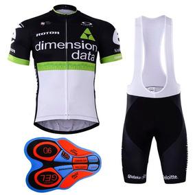 Uniforme Ciclismo Dimension Data 2017 Jersey + Short Bib