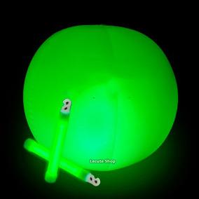 Pelota Luminosa Luz Neon Playa Varios Colores Fiesta Eventos