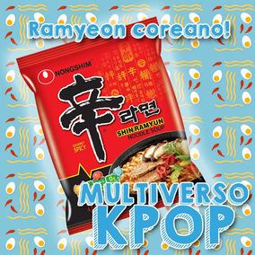 Ramen Coreano Shin Ramyun Gourmet Kpop Bts Got7 Fideos !
