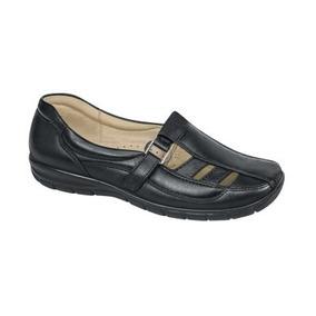 Zapatos Huaraches Dama Persona Mayor Pie Diabetico Piel C