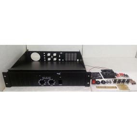 Caixa Potência De Amplificador + Acessorios
