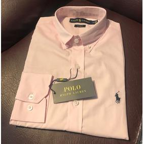 Camisa Brand Polo Rosa Claro - Camisa Social Manga Longa Masculinas ... 10baf329ea665