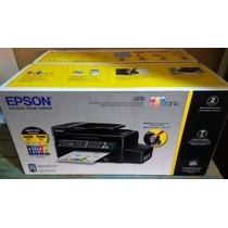 Impressora Epson L575 Ecotank Wifi Fax Scaner Copiadora