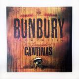 Enrique Bunbury Licenciado Cantinas Lp 2 Vinyl + 1 Cd