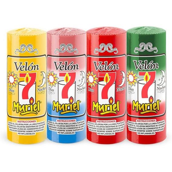 Velon , Velones Iluminarte Muriel  7 Dias  Iluminarte!!! X10