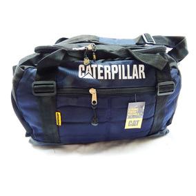 Bolso Caterpillar - Deportivo O Viaje Gran Capacidad - Azul