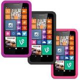 Combo Funda Nokia Lumia 635 Silicona Tpu ++ Film Protector
