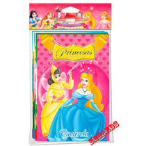 Coleção 8 Livros Princesas Inesquecíveis Rapunzel Cinderela