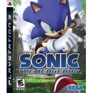 Sonic The Hedgehog Ps3 Juego Fisico Original Nuevo Sellado