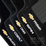 Tapete Carpete Confort Onix Cruze Prisma Spin Cobalt 5 Peças