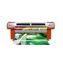 Impressora Plotter Solvente 2,10m - Faixa Banner Lona