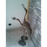 Bellas Y Decorativas Garzas En Bronce