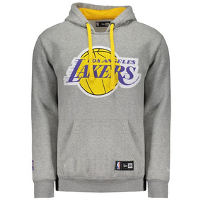 Blusa Moletom New Era Nba Los Angeles Lakers Canguru