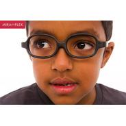 Óculos Infantil Miraflex Inquebrável Baby Plus 2 5 A 8 Anos