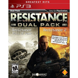 Resistance Dual Pack Ps3 Licencia Digital