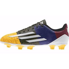 Zapato Futbol Con Tachones adidas F5 Messi Colores