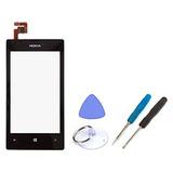Para Nokia Lumia 520 Pantalla Táctil Digitalizador Marco Re