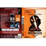 Coleção Alfred Hitchcock 16 Discos Exclusivo Dub E Leg Dvd