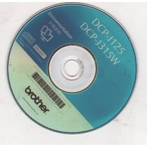 Cd De Instalação Para Impressora Brother Dcp J125 - J315w