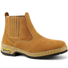 Bota Botina Masculina Country Couro Nobre Confort Exclusiva