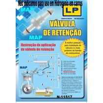 Válvula Retenção/ Antiretorno Para Combustivel/ Água/ Ar