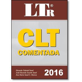 Clt Comentada De Eduardo Gabriel Saad Ltr