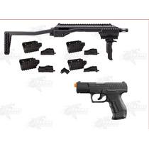 Paquete Adaptador Tac Y Walther P99 Marcadora Gotcha Xtreme