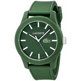 Lacoste.12.12 Reloj Resina Verde Lacoste De Los Hombres Co
