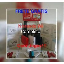 Wii Completo C\ 2 Controles + Hd 1 Terabyte 10 Mil Jogos