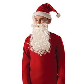 Rubíes Niño De Santa Claus Y La Barba Moustache-